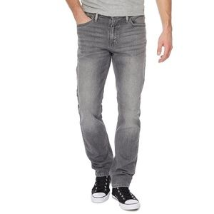 Levi's 511 Faded Gray Skinny Jeans